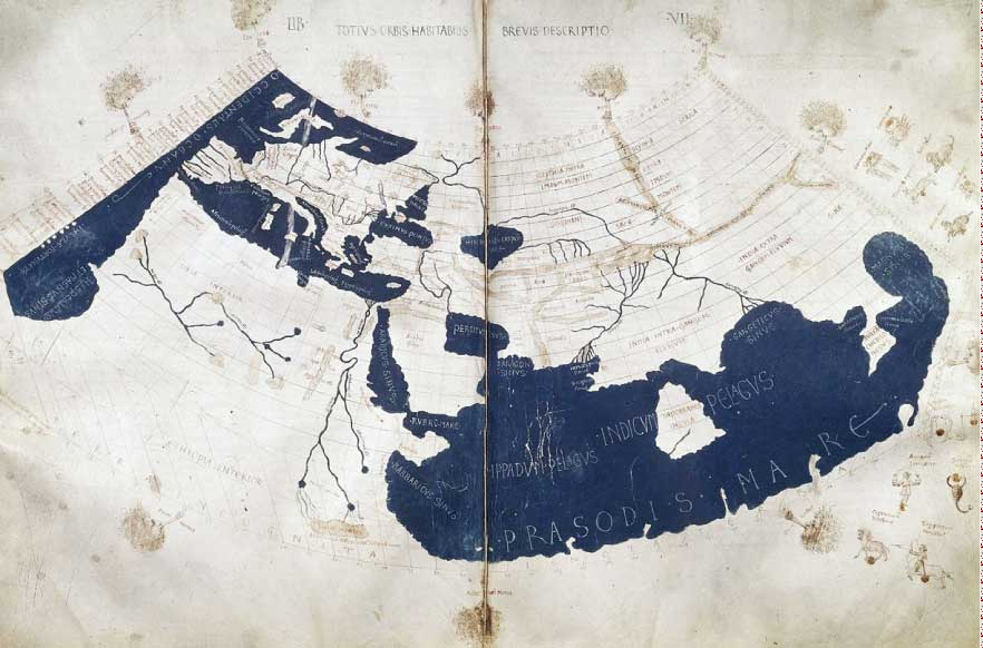 mappemonde-ptolemee-projection-conique