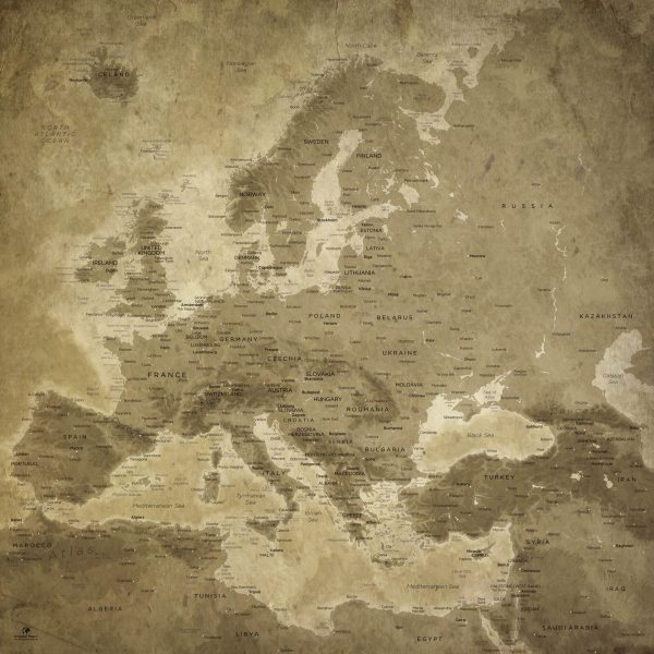 Europe-Map-Relief