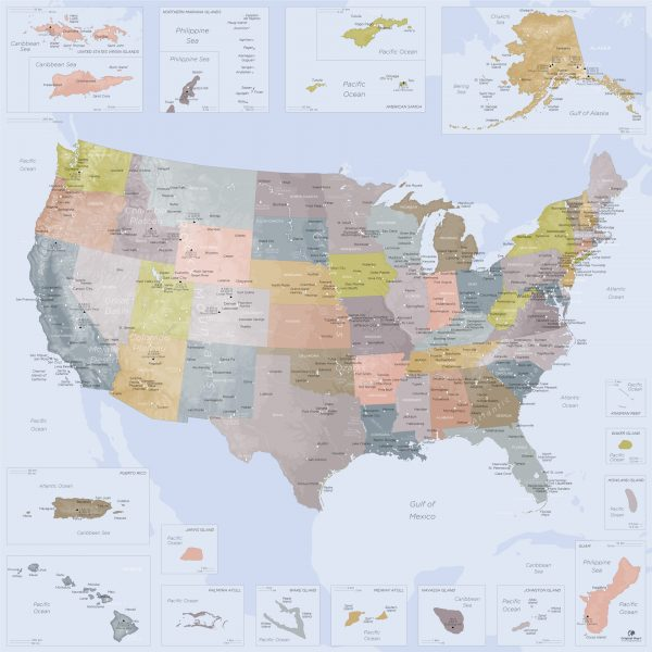 United-States-of-America-Map