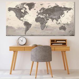 Wall World Map – Peyrepertuse